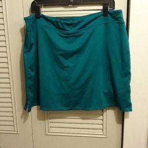 Dresses & Skirts - Teal tennis skirt